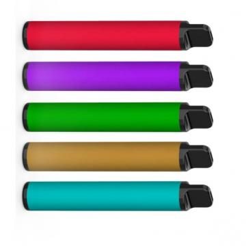 Organic Cotton Mini Disposable E Cigarette Nicotine Salt Vape Pen